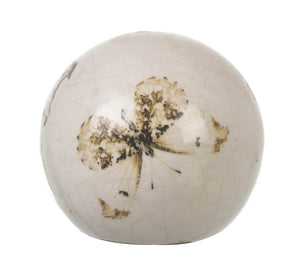 Ceramic Butterfly Ball - Small