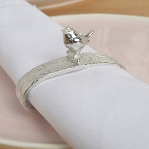 Glover & Smith Bird Wren Napkin Ring