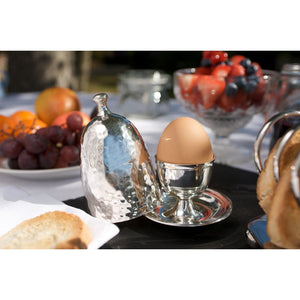 Culinary Concepts silver plated egg cup