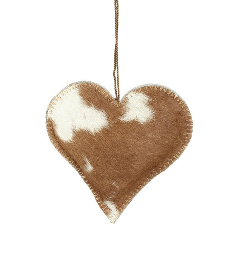 Heart Goathide Hanging Decoration