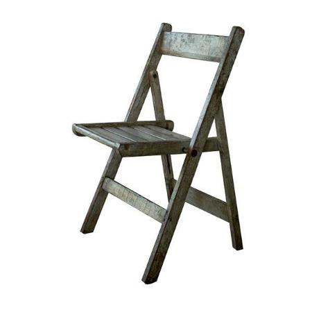 Dassie Taavi Reclaimed Folding Chair