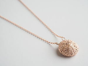 Agapi Smpokou Seastories - urchin long chain necklace, rose gold plate