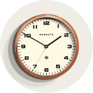 Newgate chrysler modern copper radial wall clock