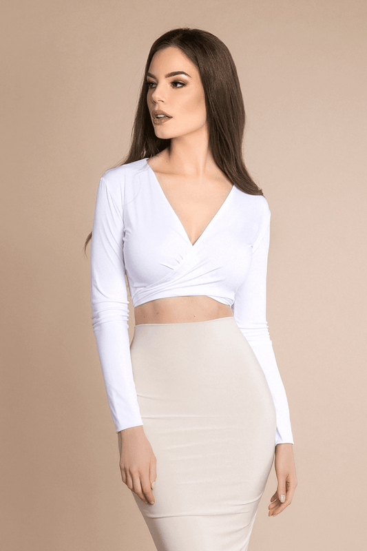 Bombshell the Label - Sherry Wrap Top