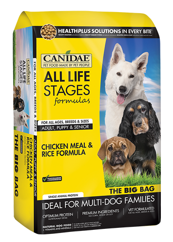 Canidae All Life Stages Chicken Meal and Rice Formula Dry Dog Food