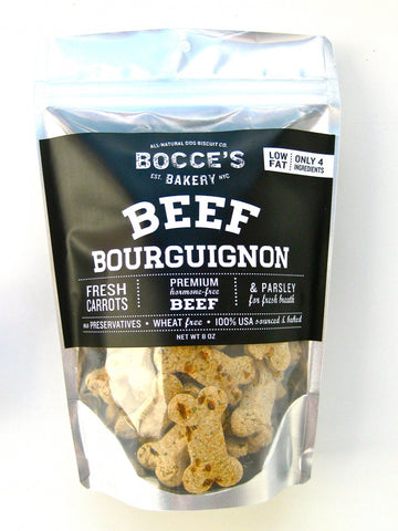 Bocce's Bakery Beef Bourguignon All Natural Dog Biscuits