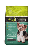 AvoDerm Natural Small Breed Adult Chicken Meal and Brown Rice Formula Dry Dog Food