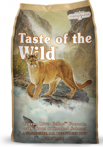 Taste Of The Wild Canyon River Dry Cat Food