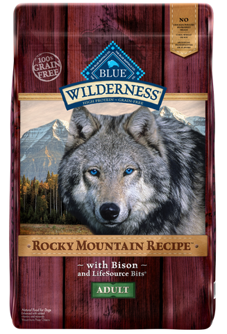 Blue Buffalo Wilderness Rocky Mountain with Bison Adult Dry Dog Food