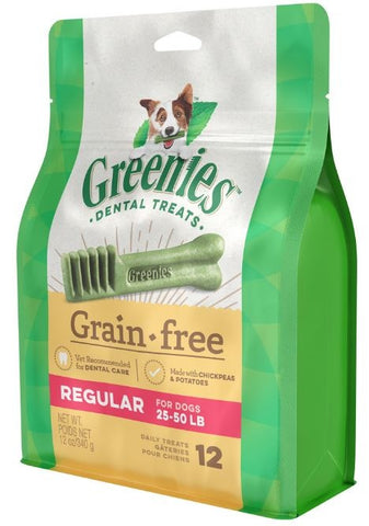 Greenies Regular Grain Free Dental Dog Chews