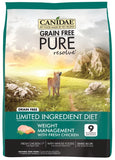 Canidae Grain Free PURE Resolve with Fresh Chicken Adult Weight Management Formula Dry Dog Food