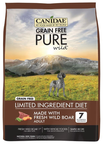 Canidae Grain Free PURE Wild with Fresh Wild Boar Adult Formula Dry Dog Food