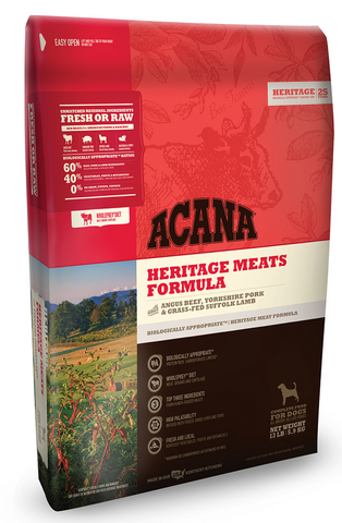 ACANA Heritage Meats Formula Dry Dog Food