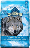 Blue Buffalo Wilderness Grain Free Denali Dinner with Salmon, Venison and Halibut Dry Dog Food