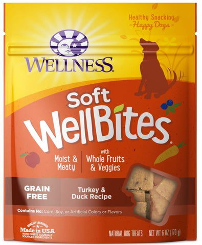 Wellness Moist & Meaty Turkey & Duck Bites