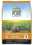 Canidae Grain Free PURE Foundations Kitten Formula Fresh Chicken Dry Cat Food