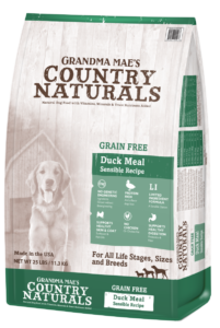 Grandma Mae's Country Naturals Grain Free Single Protein Duck Meal Recipe Dry Dog Food