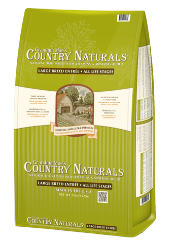 Grandma Mae's Country Naturals Large Breed Formula Dry Dog Food