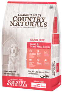 Grandma Mae's Country Naturals Grain Free Single Protein Lamb & Lamb Meal Recipe Dry Dog Food