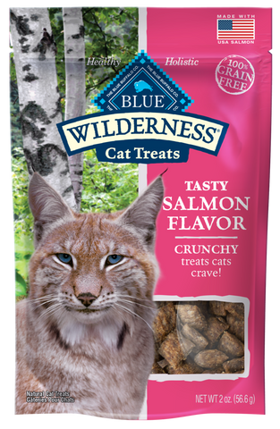 Blue Buffalo Wilderness Salmon Crunchy Cat Treats