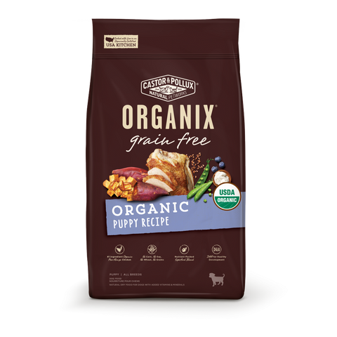Castor and Pollux Organix Grain Free Organic Puppy Dry Dog Food