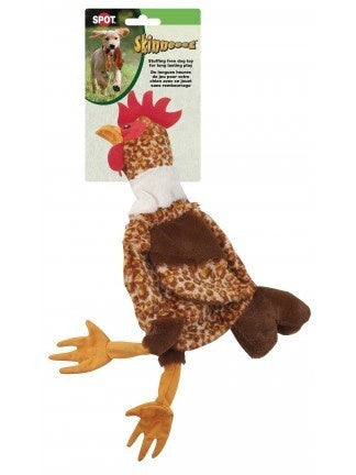 Ethical Pet SPOT Skinneeez Barnyard Chicken Dog Toy
