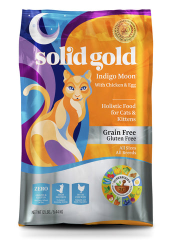 Solid Gold Indigo Moon® With Chicken & Egg Cat Food
