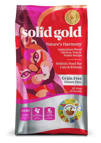 Solid Gold Nature's Harmony™ Chicken, Peas & Potato Recipe With Cranberries Cat Food
