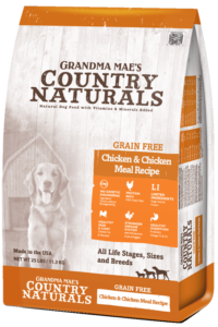 Grandma Mae's Country Naturals Grain Free Single Protein Chicken Recipe Dry Dog Food