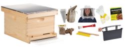 10 Frame Deluxe Beginner Beehive Kit