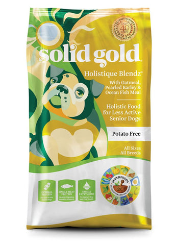 Solid Gold Holistique Blendz® Ocean Fish Meal With Oatmeal, Pearled Barley & Ocean Fish Dog Food