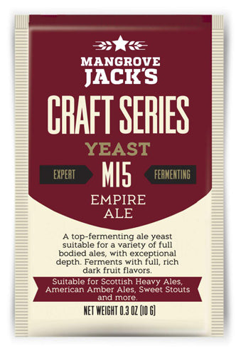 Trocken Bierhefe Empire Ale M15, Mangrove Jack's Craft Series, 10 gram