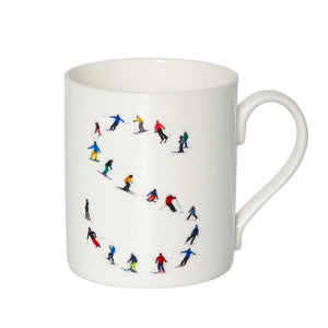 ALPHABET SKI MUG - Powderhound