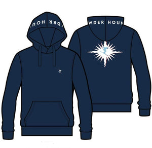 POWDERHOUND SKI STAR BLUE HOODIE - hoodie