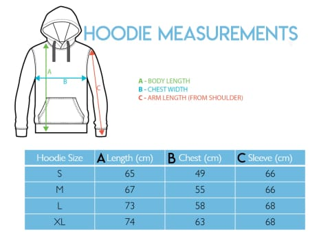 POWDERHOUND SKI STAR BLUE HOODIE