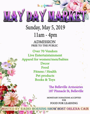 May Day Market- Showcasing Handmade Artisan Goods from Belleville, Ontario & Beyond.