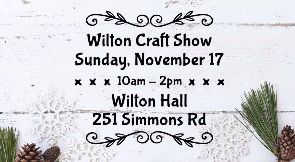 Wilton Annual Craft Fair | Wilton, ON - November 2019