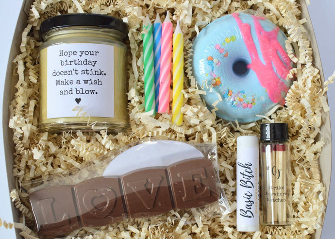 THE BIRTHDAY BUNDLE - Handmade Curated Gift Sets | Countryside Treasures
