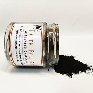 Tooth Polish - Activated Charcoal (Vegan) - Countryside Treasures
