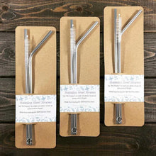 Stainless Steel Straws with Cleaning Tool - Countryside Treasures