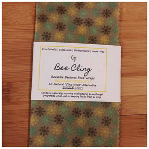 REGULAR STRENGTH Reusable Beeswax Food Wrap - Countryside Treasures