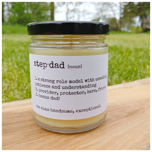 STEP·DAD beeswax candle - Countryside Treasures