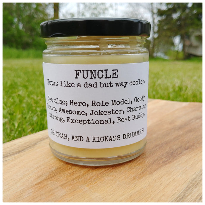 FUNCLE beeswax candle - Countryside Treasures