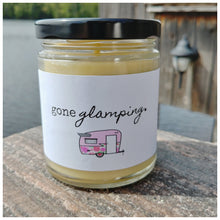 GONE GLAMPING beeswax candle - Countryside Treasures