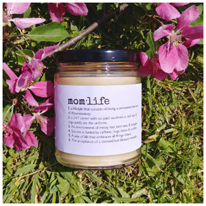MOM·LIFE beeswax candle - Countryside Treasures