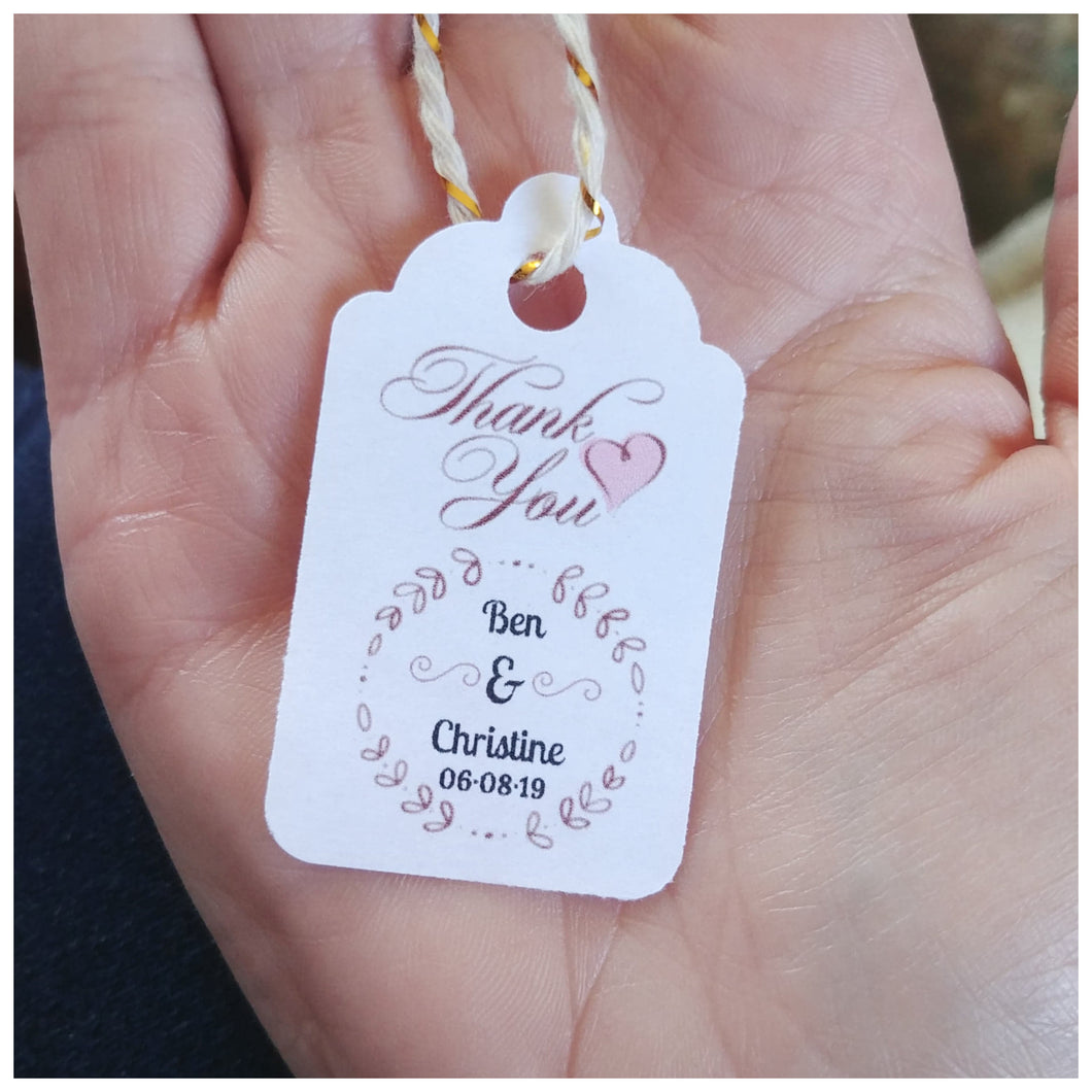 CUSTOM GIFT | FAVOUR TAGS - Countryside Treasures