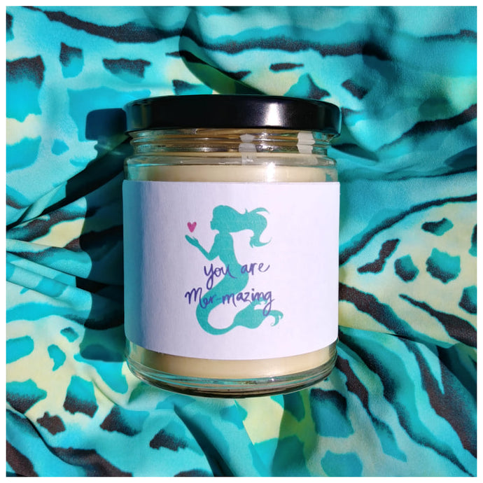 YOU ARE MERMAZING - Handmade Beeswax Candle | Countryside Treasures