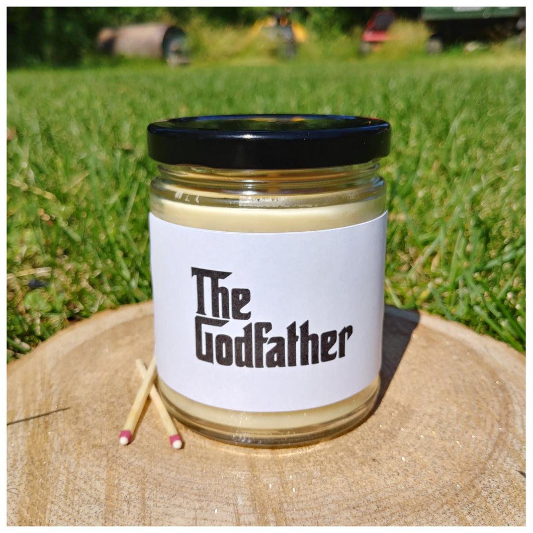 THE GODFATHER beeswax candle - Countryside Treasures