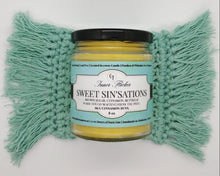 SWEET SIN'SATIONS (Cinnamon Buns) scented beeswax candle - Countryside Treasures