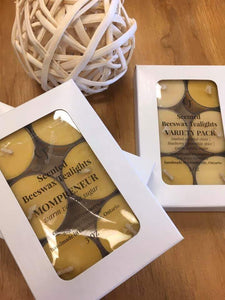 Scented Beeswax Tealight Candles - Countryside Treasures
